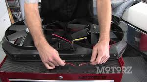 flex a lite electric fan kit flex a lite f 150 electric fan install on motorz youtube