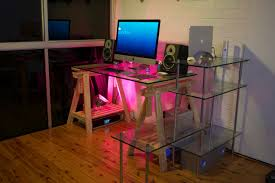 mac setup the desk of a technical director