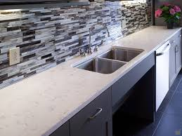 decorating modern backsplash with cambria torquay countertop for