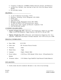 It Resume Cover Letter Examples by Ashish Sewatkar Resume 2016