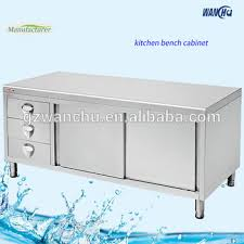restaurant malaysia market stainless steel kitchen cabinet with