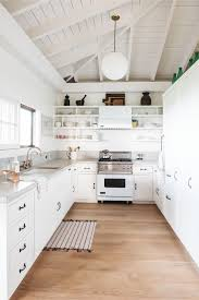 Design House Madison Kitchen Faucet Steal This Look A Modern All White Kitchen In Maui Remodelista