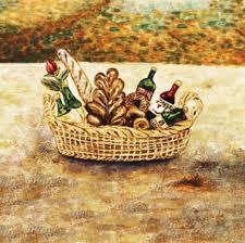 Wine Picnic Basket Wine And Roses Tile Mural Kitchen Backsplash Custom Tile Art