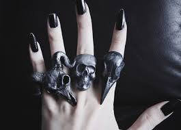 skull gothic rings images Jewels ring ring wylona hayashi grunge punk goth skull jpg