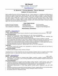 Recruiter Resume Samples by Inspiring Marketing Manager Resume Samples With Entry Level