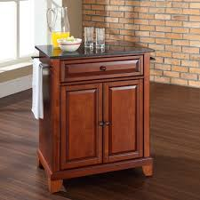 crosley kitchen cart with granite top picgit com