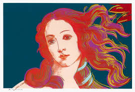 andy warhol andy warhol warhol birth of venus 1984 screen print
