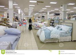 pillows and bed linen in the store editorial image image 36731860
