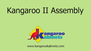 kangaroo ii sewing cabinet assembly video youtube