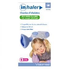 chambre inhalation b acheter inhaler chambre d inhalation pédiatrique visiomed prix