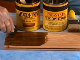 how to stain unfinished pine tips on staining wood diy