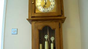 Emperor Grandfather Clock Urgos Westminster Chiming Longcase Grandfather Clock Youtube