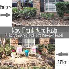 Front Patio Design A Stylish Useful Diy Front Yard Patio