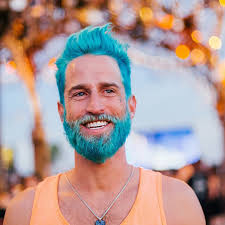 pictures of people who colored their hair with loreal feria b16 merman trend men are dyeing their hair with incredibly vivid colors