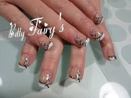 deco ongle en gel noir et blanc ongles naturel tous les messages sur ongles naturel page 56