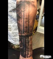 collection of 25 tree leg sleeve tattoos