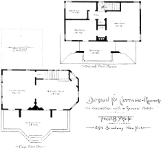 Small Victorian Home Plans Historic Queen Anne House Plan From The 1884