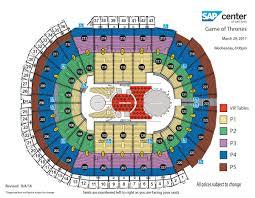 Pepsi Center Map Sap Center At San Jose San Jose Tickets Schedule Seating