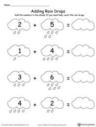 adding numbers with flowers sums to 5 printable maths