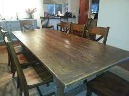 Shabby Chic Dining Room Table by Table Dining Room Tables Pottery Barn Shabbychic Style Expansive