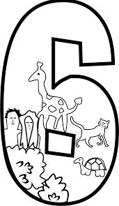 clipart creation day 6 coloring page