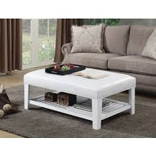 homepop brook cocktail ottoman with shelf free shipping today