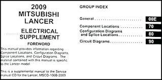 2009 mitsubishi lancer stereo wiring diagram evolution manual
