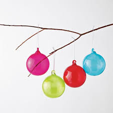 colored glass sphere ornaments modern decorations