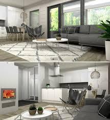 Home Design Nahfa by Finnlamelli Hirsitalo Paritalo Olohuoneen 3d Stailaus