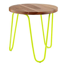 Land Of Nod Coffee Table - neon nightstand neon yellow the land of nod furniture