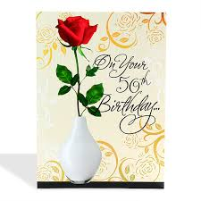 50 birthday card 50th birthday card at best prices in india archiesonline
