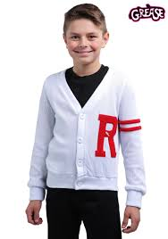 grease lightning halloween costumes rydell high boys letterman sweater from grease