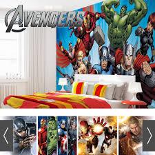 marvel avengers photo wallpaper mural ebay