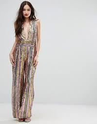 sequined jumpsuit sequined jumpsuit is asos wedding dresses