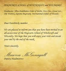 harry potter letter gplusnick