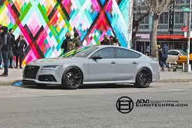 nardo grey rs3 nardo gray audi rs7 rides on adv 1 wheels autoevolution