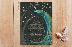 peacock wedding invitations peacock wedding invitations for multicultural weddings