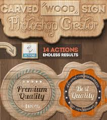 wood photoshop styles and actions psddude