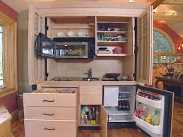 hidden kitchen reveals a clever solution hgtv