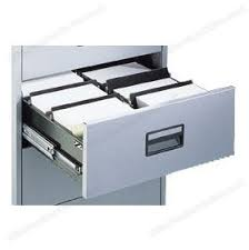 Silverline Filing Cabinet Silverline Media U0026 Card Index Filing Cabinets Dividers 5pk