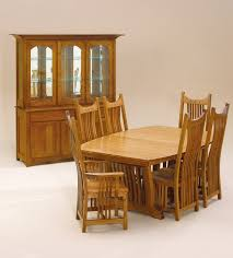 Mission Style Dining Room Sets by Amish Dining Room Furniture Amish Table And Chairs Appleton