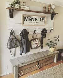 Entryway Bench And Storage Shelf With Hooks Shiplap Coat Rack Laundry Mud Room Pinterest Shiplap Coat