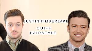 justin timberlake quiff hairstyle business haircut classic