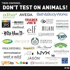 these companies do not test on animals they u0027re cruelty free peta