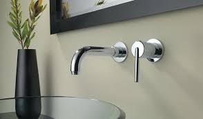 wall mounted faucets kitchen wall mounted faucet brokenshaker com
