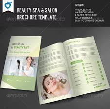 spa brochure templates 100 images free wellness spa flyer psd