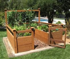 how to raised garden bed design furniture mommyessence com