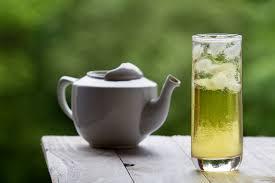 Teh Zegar 2 tang tea beranda