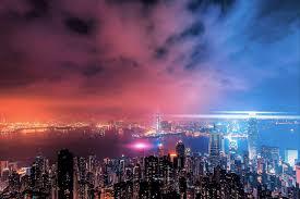 hong kong city nights hd wallpapers hong kong on a cloudy night full hd wallpaper and background