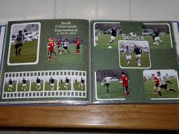 sports photo albums 182 best scrapbooking sports layouts images on